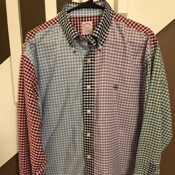 Brooks Brothers Other - Brooks Brothers Logo Multicolored Check Plaid MENS